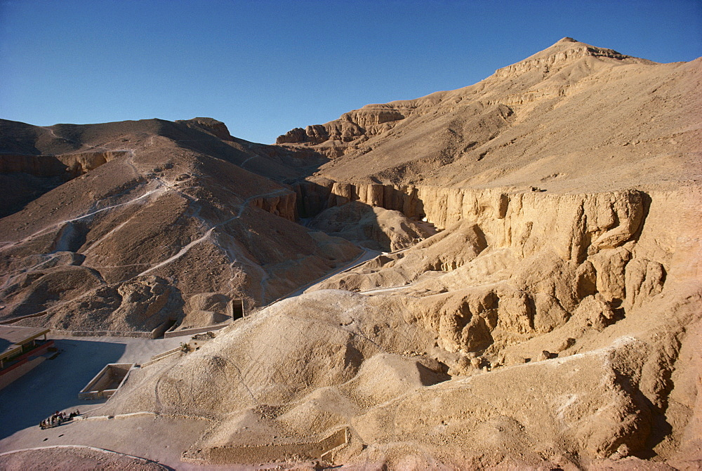 The Valley of the Kings, UNESCO World Heritage Site, Thebes, Egypt, North Africa, Africa