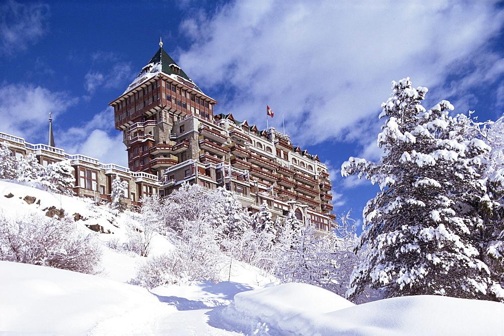Palace Hotel, St. Moritz, Switzerland, Europe - 71-2409