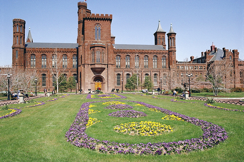 Old Smithsonian Institute, Washington D.C., United States of America (U.S.A.), North America