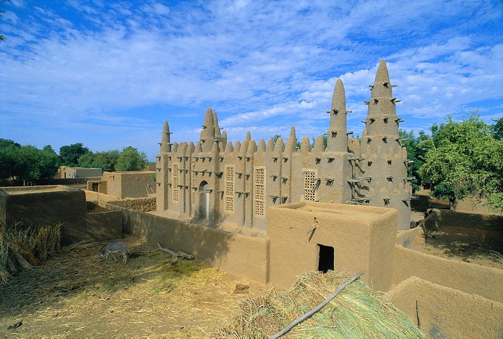 Mosque, Bozo Village, Mali