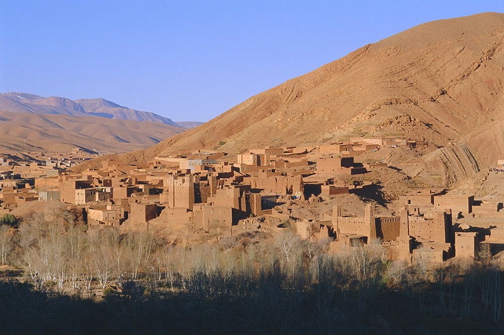Ait Arbi Kasbah, Dades Valley, High Atlas mountains, Morocco, North Africa