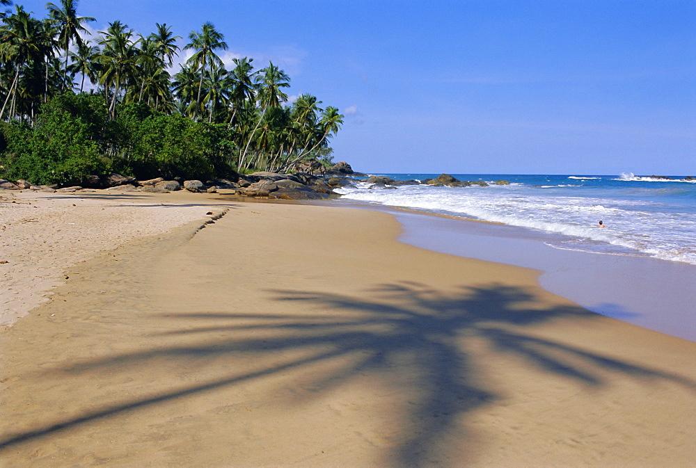 Tangalla beach, Tangalla, south coast, Sri Lanka, Indian Ocean, Asia