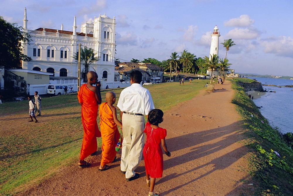 The Dutch fort, Galle, Sri Lanka, Asia