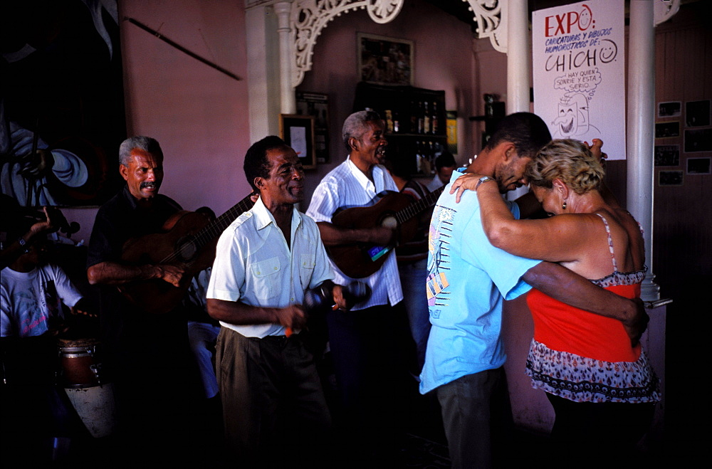 Music and dance, Casa de las traditiones, Santiago de Cuba, Cuba, Central America