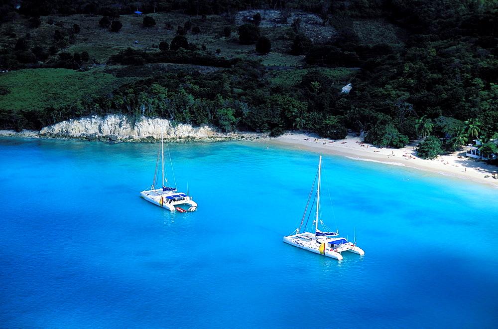 Anse Canot beach, Marie Galante island, Guadeloupe, Caribbean, Central America