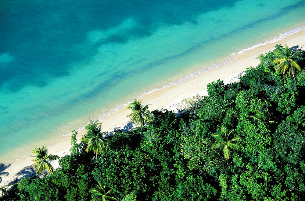 Anse Mays beach, Marie Galante island, Guadeloupe, Caribbean, Central America - 712-1739