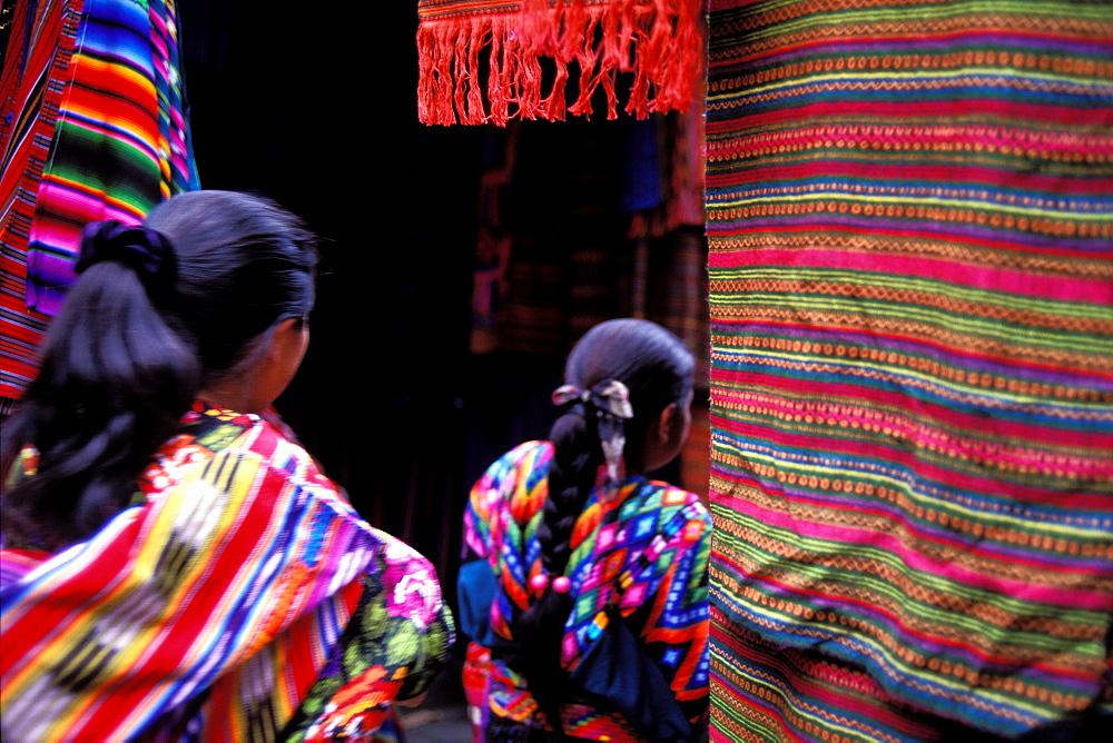 Sunday market, Chichicastenango, Guatemala, Central America