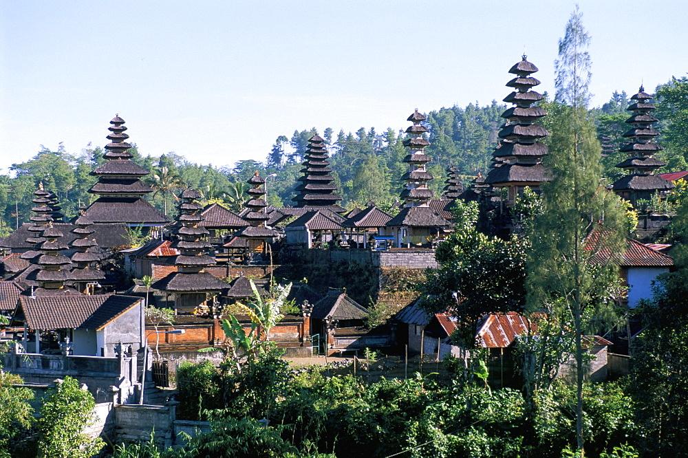 Pura Besakih temple, island of Bali, Indonesia, Southeast Asia, Asia