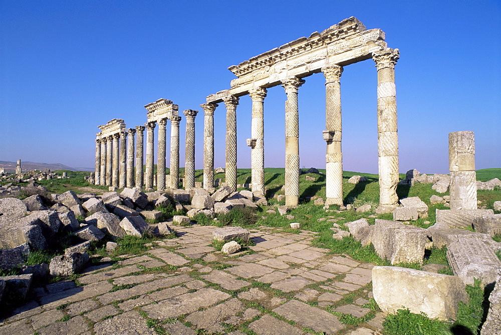Qalaat al-Moudiq, Apamea, Lattakia, Syria, Middle East