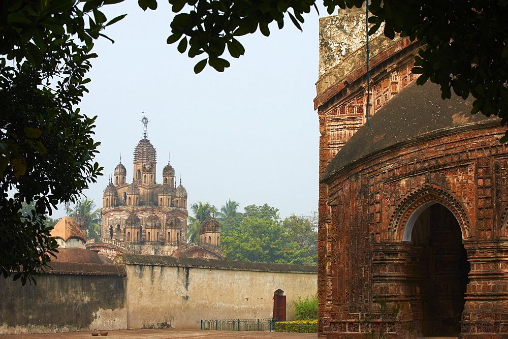 Kalna Temple Complex, Kaha, West Bengal, India, Asia