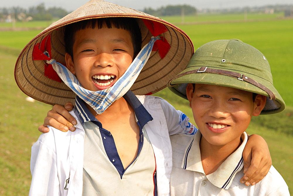 Kenh Ga, Ninh Binh area, Vietnam, Indochina, Southeast Asia, Asia