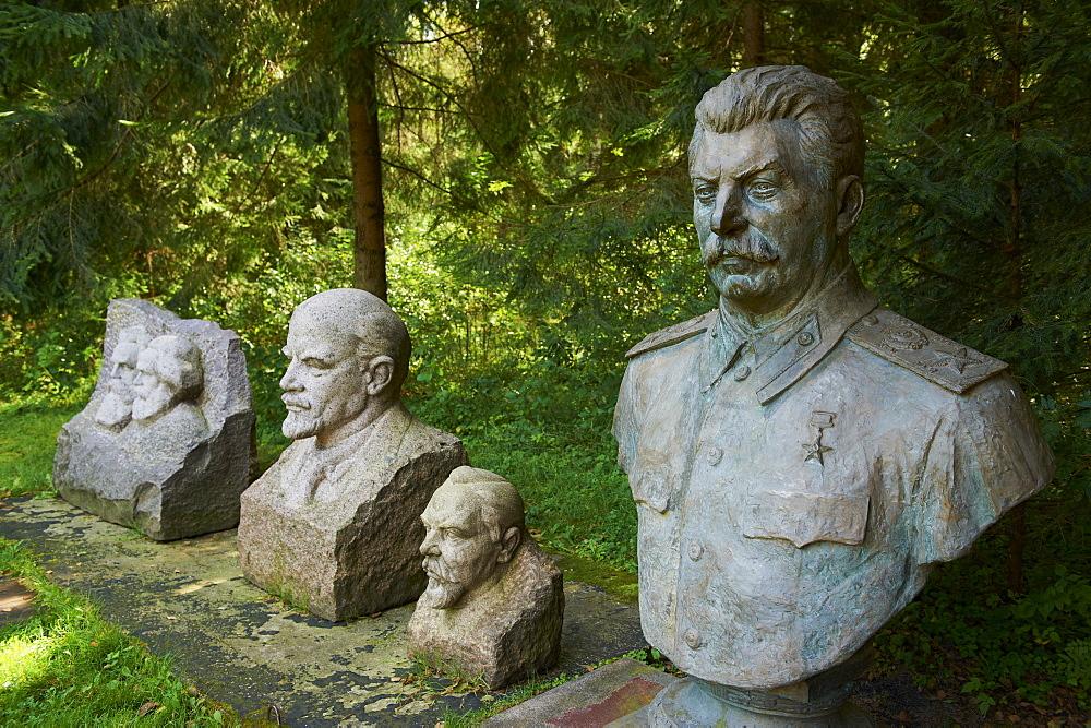 Stalin world, Gruto Park, Druskininkai, Alytus Region, Lithuania, Europe