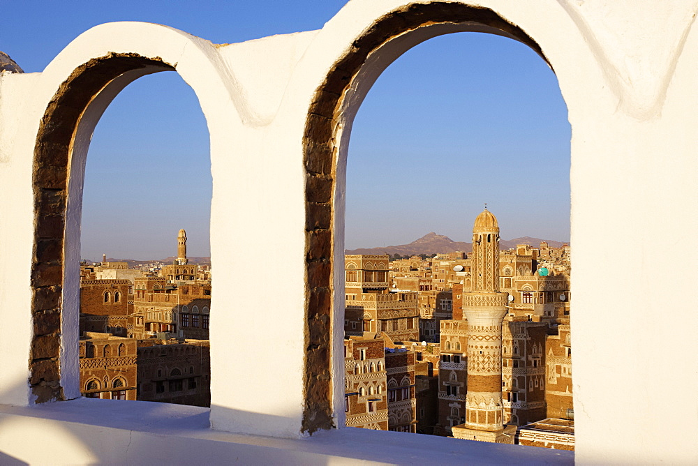 Old City of Sanaa, UNESCO World Heritage Site, Yemen, Middle East