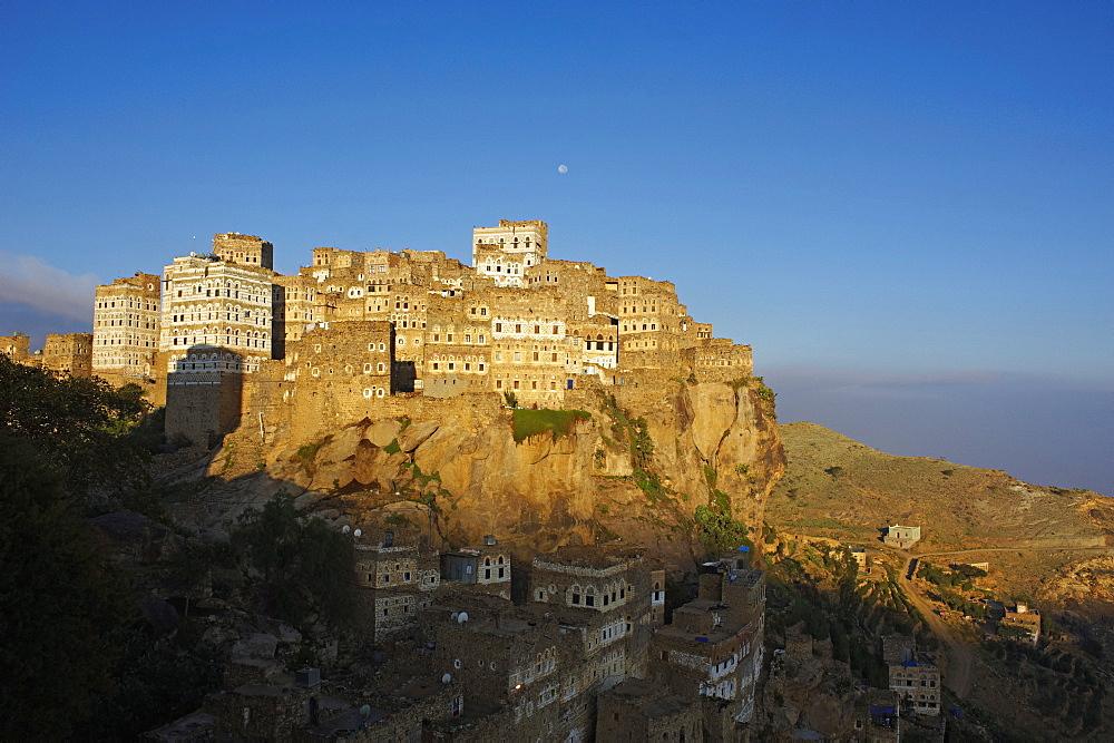 Al Hajjarah village, Djebel Haraz, Yemen, Middle East