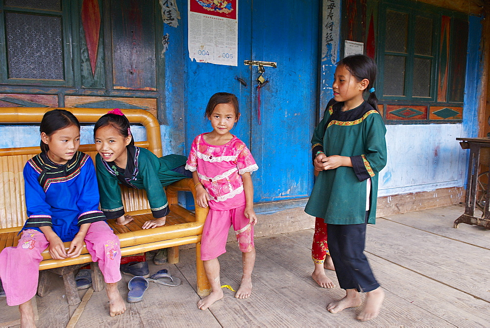 Miao village of Biasha, Guizhou Province, China, Asia