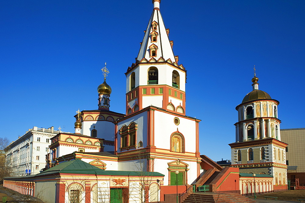 Epiphany Cathedral, Irkutsk, Siberia, Russia, Eurasia  - 712-2629