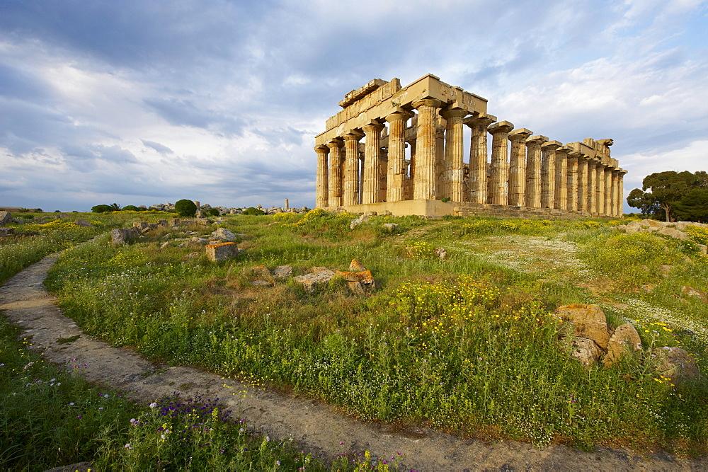 Temple E, Selinunte, Trapani District, Sicily, Italy, Europe  - 712-2712