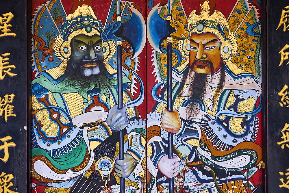 Cheng Hoon Teng temple, Chinatown, Malacca, UNESCO World Heritage Site, Malacca State, Malaysia, Southeast Asia, Asia