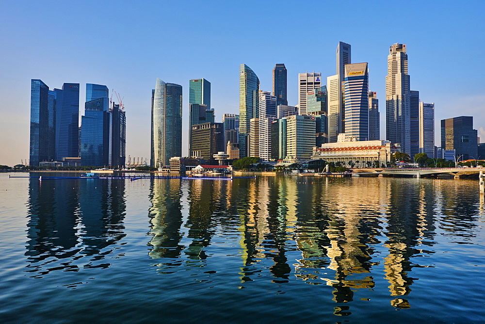 Business Centre, Marina Bay, Singapore, Southeast Asia, Asia