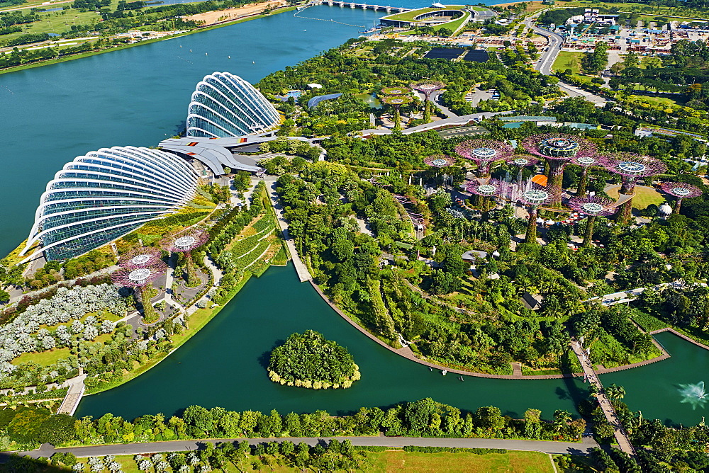 Garden By the Bay, botanic garden, Marina Bay, Singapore, Southeast Asia, Asia