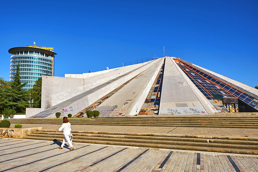 The Pyramid (Piramida), Tirana, Albania, Europe