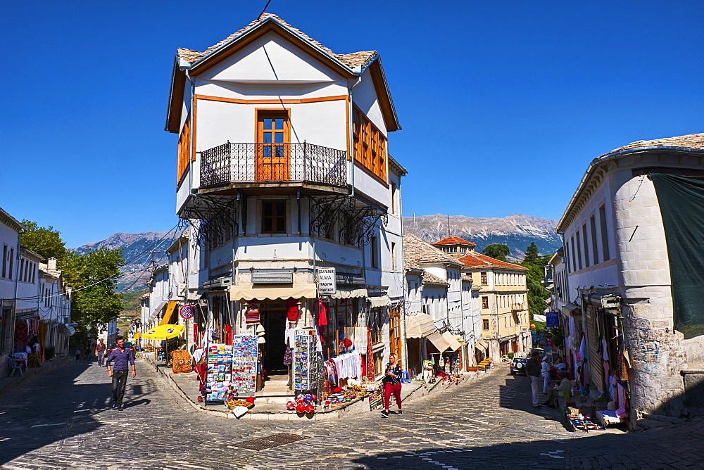 Albania, Gjirokaster province, Gjirokastra (Gjirokaster), UNESCO World Heritage Site, Old city