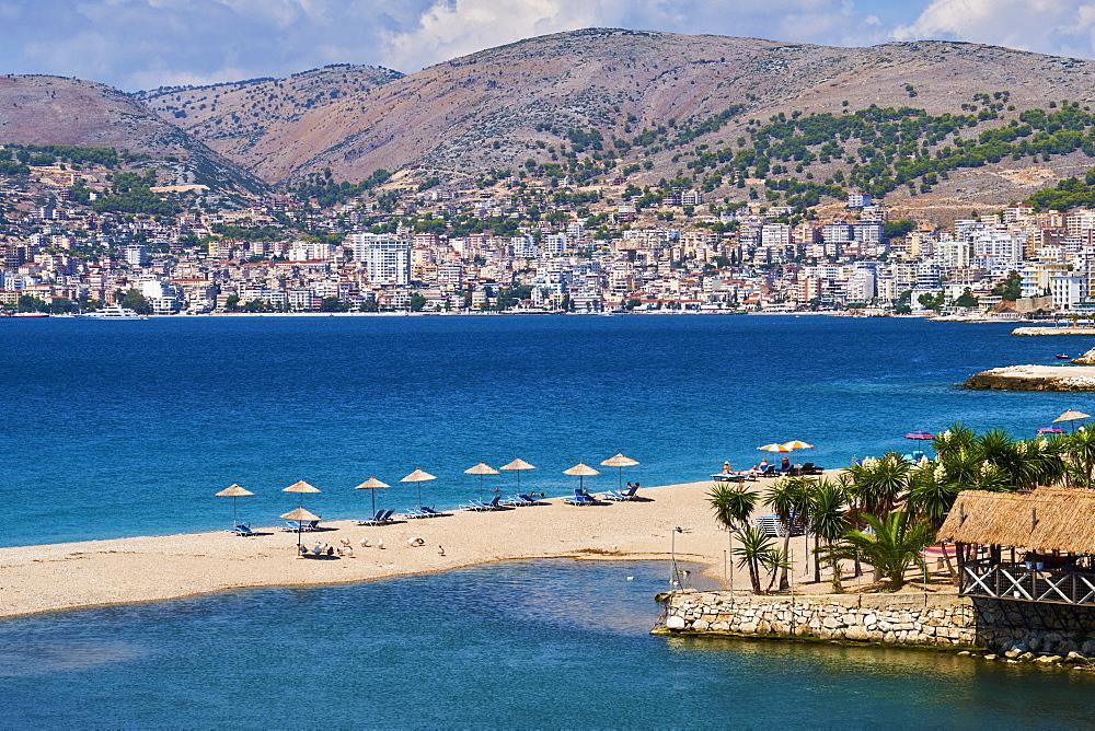 Saranda city, Vlore Province, Albania, Europe