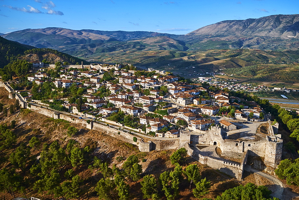 Berat city, UNESCO World Heritage Site, Berat Province, Albania, Europe