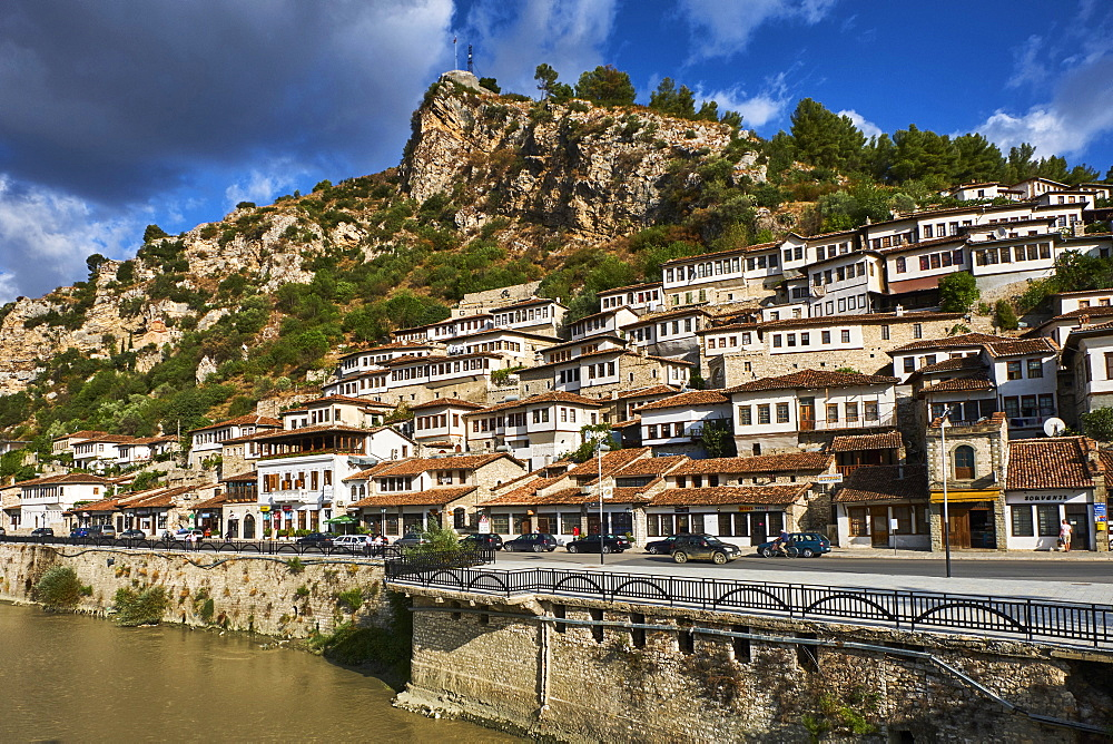 Albania, Berat province, Berat city, Unesco world heritage