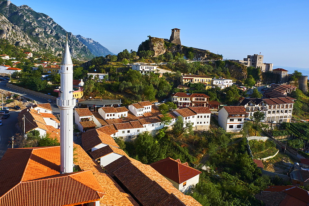 Albania, Durres province, old town of Kruja