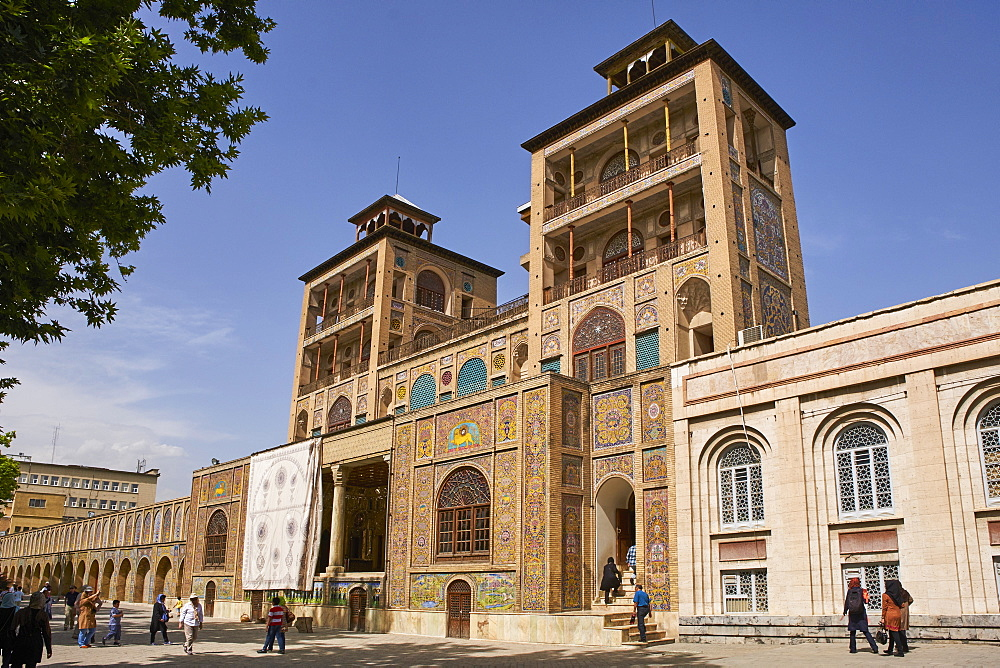 Golestan Palace, UNESCO World Heritage Site, Tehran, Iran, Middle East
