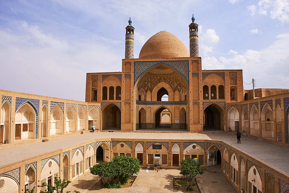 Friday Mosque, Kashan city, Isfahan Province, Iran, Middle East