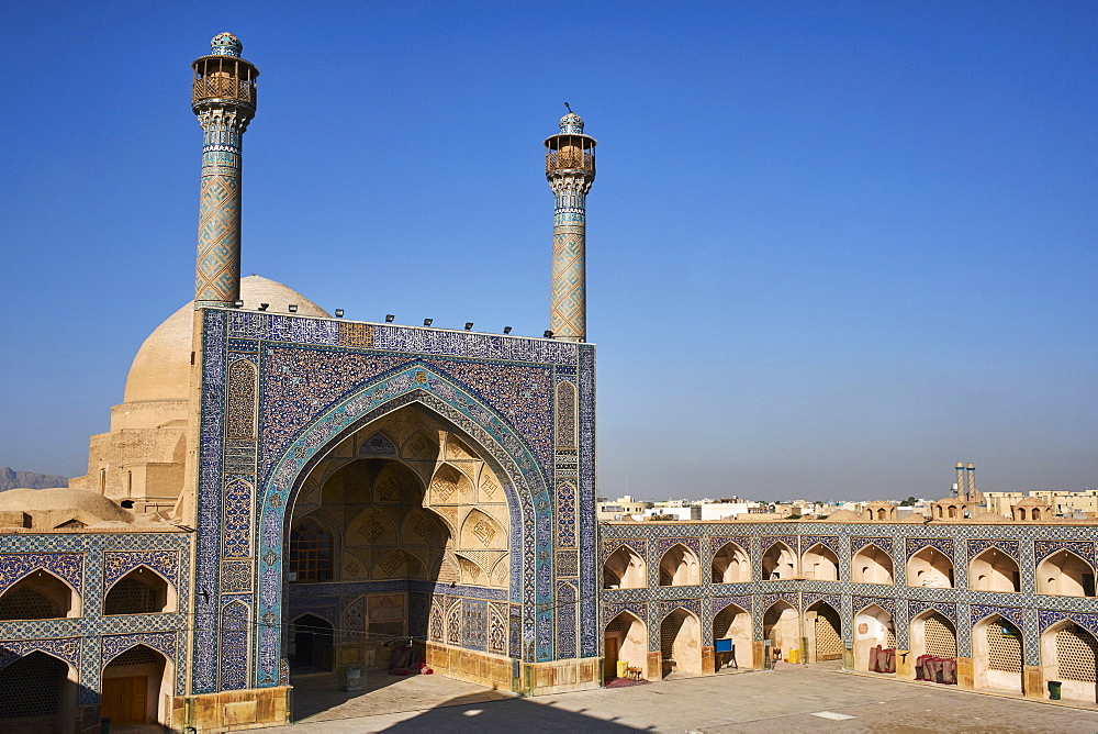 Iran, Isfahan, Friday mosque, world heritage of the UNESCO
