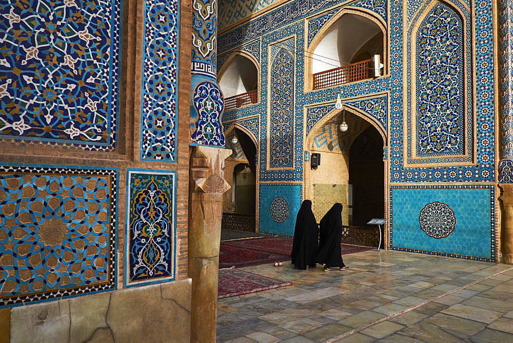 Iran, Yazd province, Yazd, Friday mosque