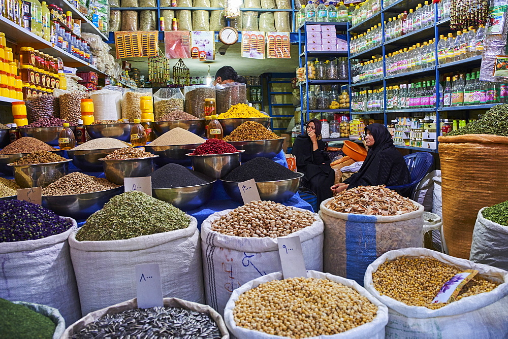 End to End bazaar, Kerman, Kerman Province, Iran, Middle East