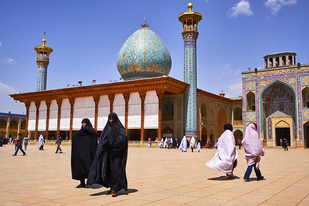 Shah Cheragh Mausoleum, Shiraz, Fars Province, Iran, Middle East - 712-2853