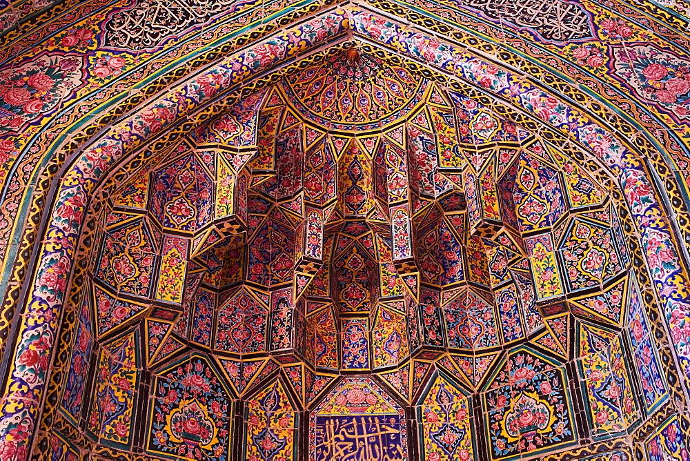Nasir al Molk Mosque, Shiraz, Fars Province, Iran, Middle East - 712-2862