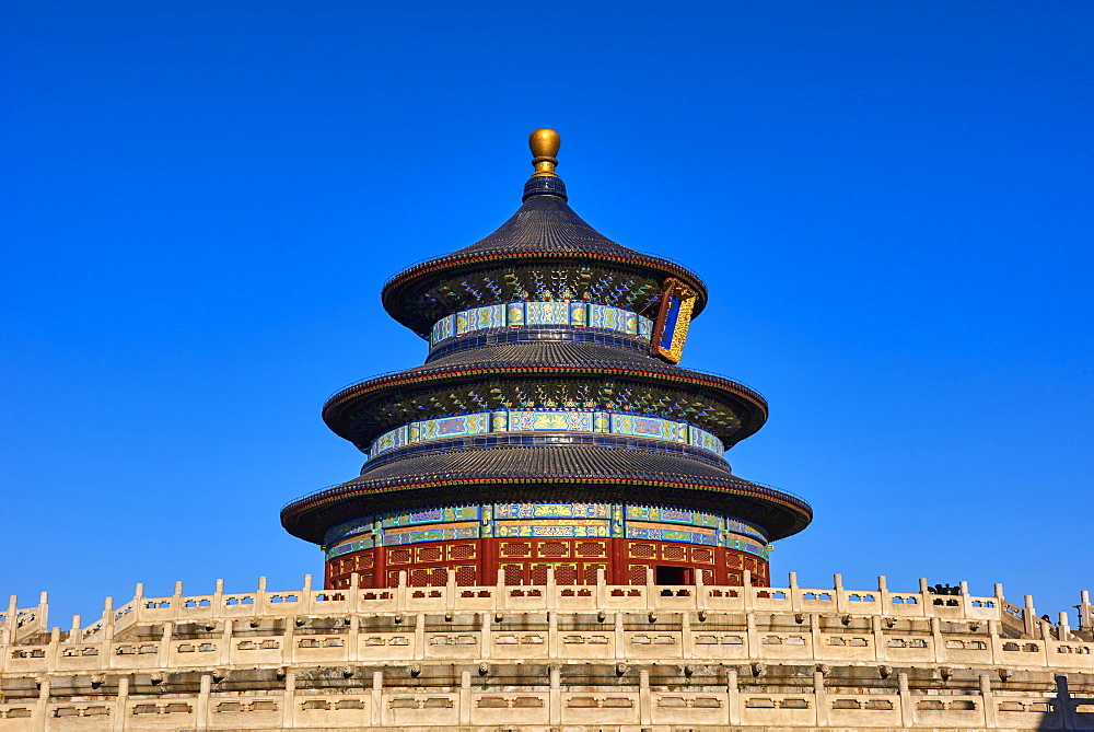 Temple of Heaven, Unesco world heritage, Dongcheng, Beijing, China