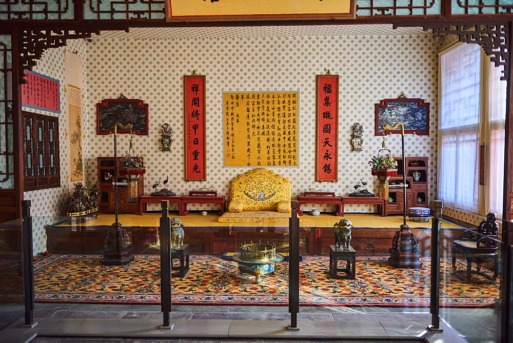 Interior of the Palace of Tranquil Longevity in the Forbidden City, Beijing, China