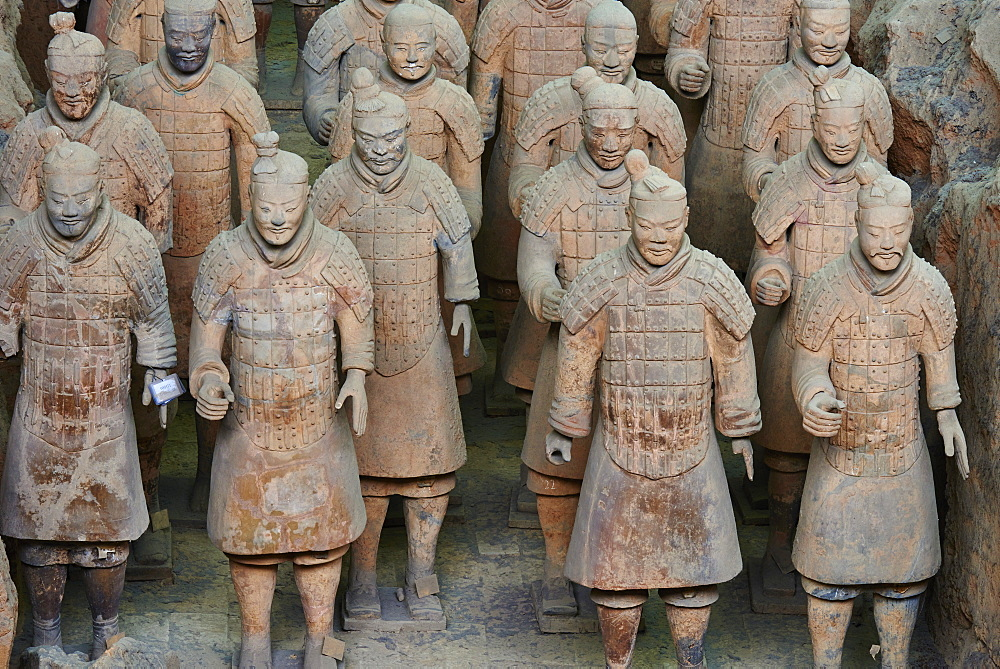 Lintong site, Army of Terracotta Warriors, UNESCO World Heritage Site, Xian, Shaanxi Province, China, Asia