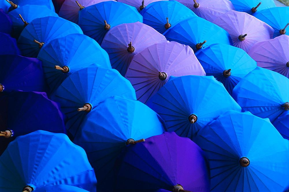 Umbrellas, Bo Sang, Thailand, Asia - 712-391