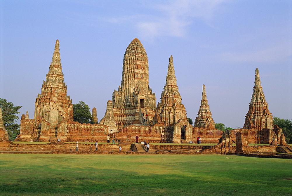 Wat Chai Wattanaram, Ayuthaya, Thailand, Asia