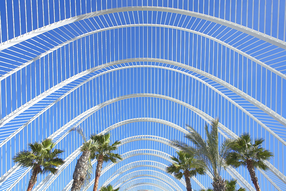 The Umbracle, City of Arts and Sciences, Valencia, Spain, Europe - 718-1355