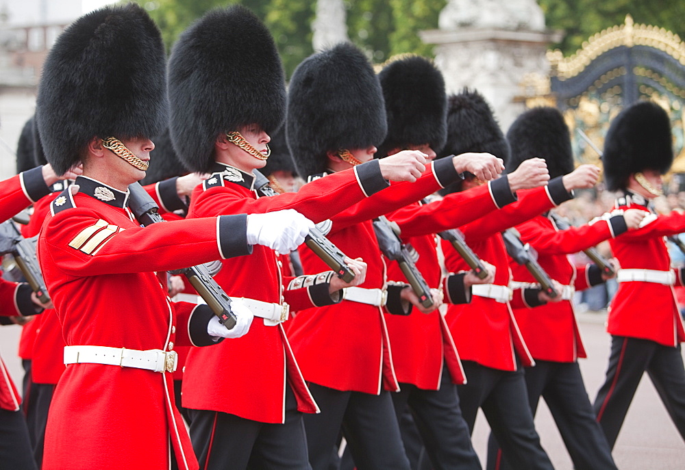 Changing Of The Guard at Buckingham Palace, London, England, United Kingdom, Europe