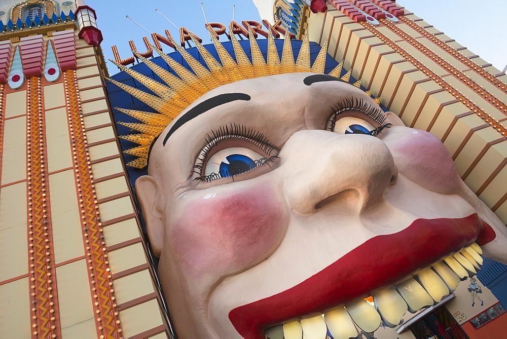 Luna Park entrance, Sydney, New South Wales, Australia, Pacific