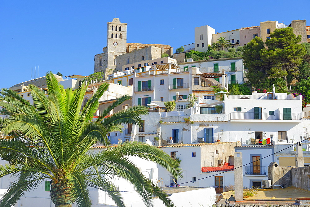 Ibiza town, Ibiza, Balearic Islands, Spain, Europe