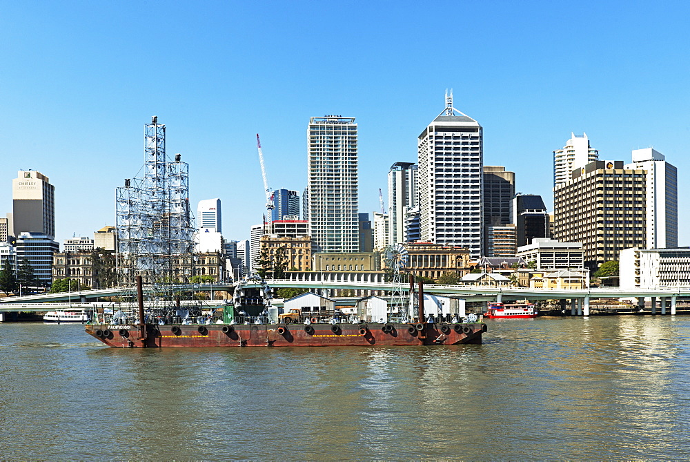 Cityscape. Brisbane, Queensland, Australia, Pacific