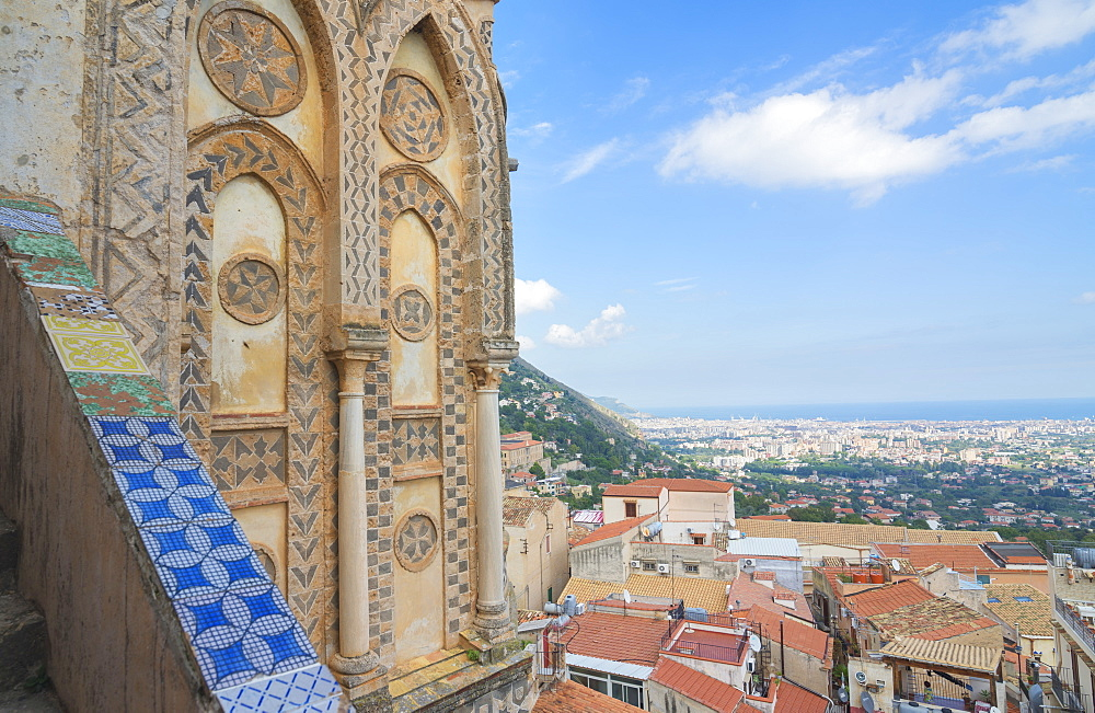 Monreale Cathedral, Monreale, Sicily, Italy, Europe - 718-2184