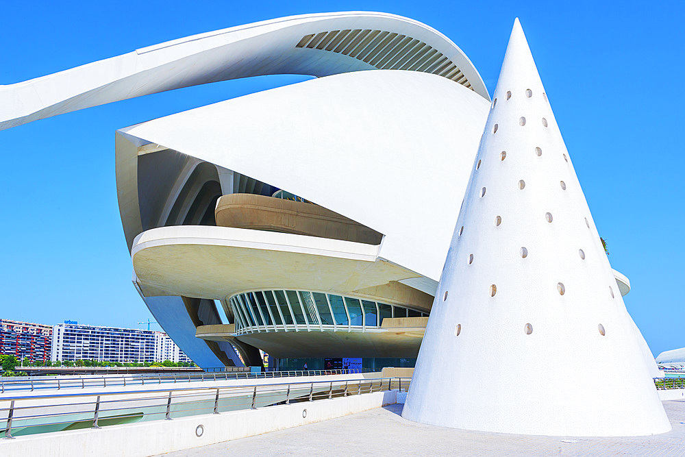 Reina Sofia Arts Palace, City of Arts and Sciences, Valencia, Spain, Europe