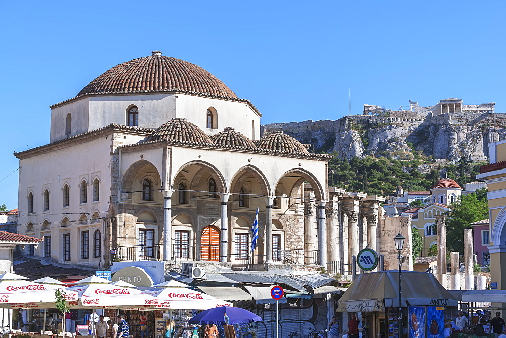 Monastiraki Square, Athens, Greece, Europe